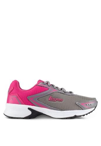 Legas grey and pink Corona LA Women's Shoes LE684SH0S2N5MY_1