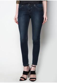 Modified Fashion Denim Stretch Skinny Low Waist Pants