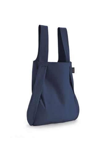 NOTABAG blue Notabag Original Convertible Tote Backpack - Navy Blue 80507AC9A05599GS_1