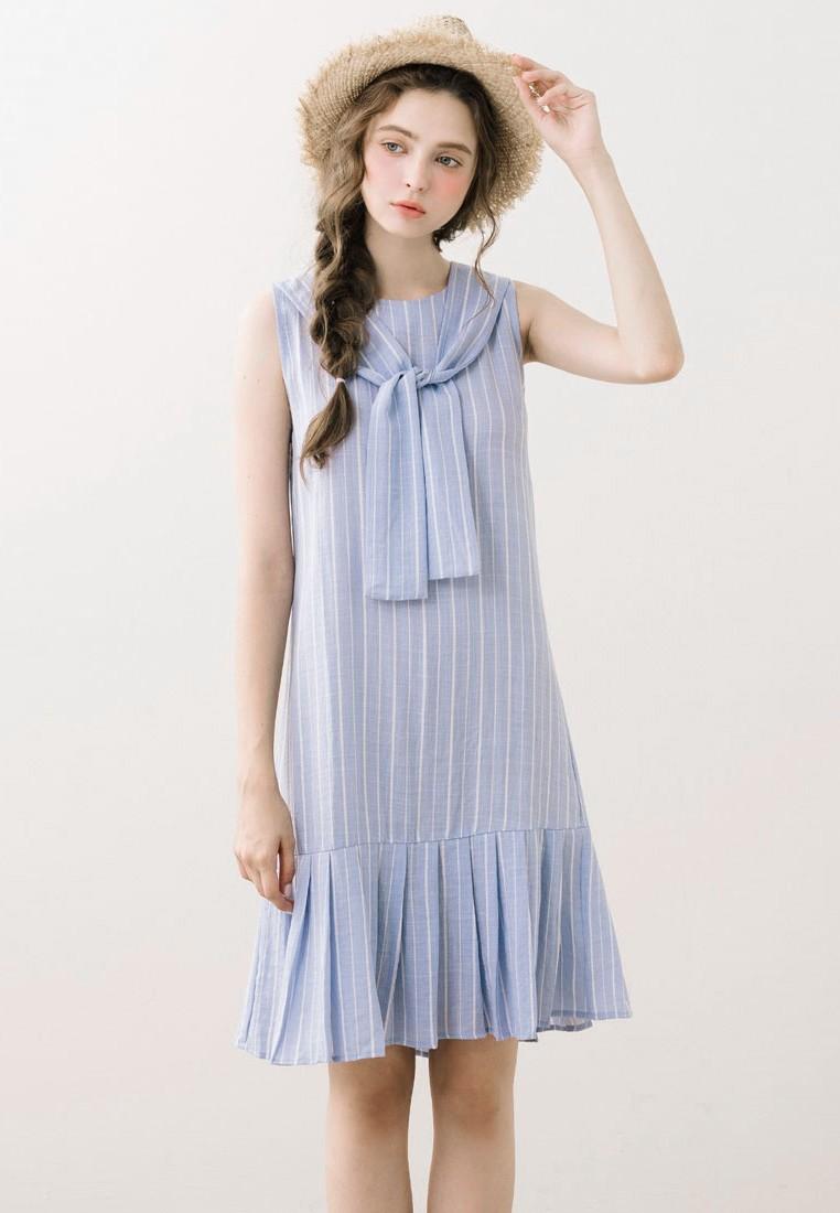 Captivating Sweetheart Dropwaist Dress