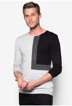 Geometry 3 Tone Sweater