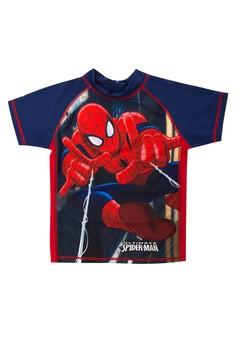 Spiderman Short Sleeved Rashgaurd