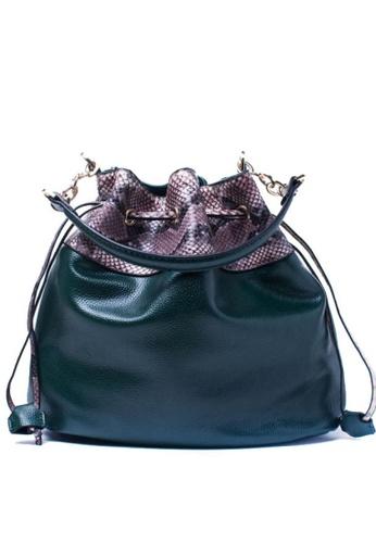 Vince green European Designed Tote bag VI456AC31SGAMY_1