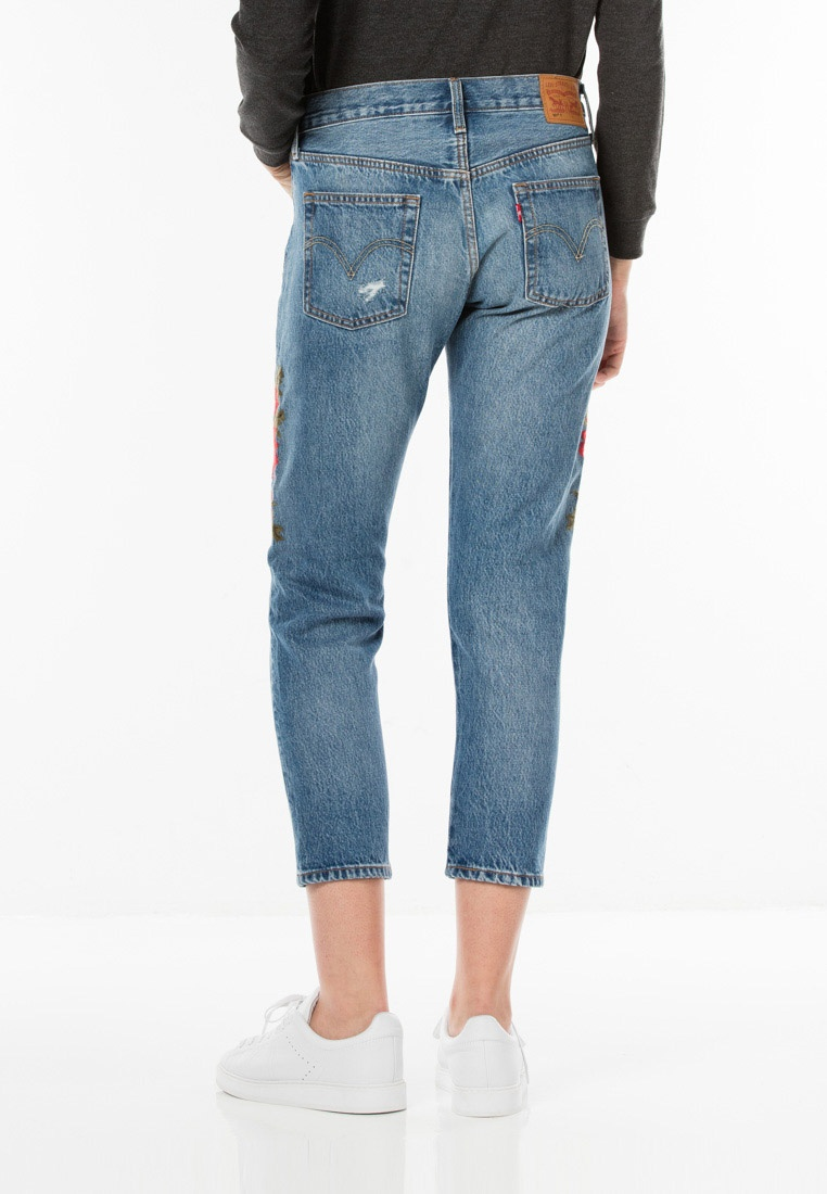 Taper Jeans Cropped Blue 501® Levi's Levi's Fn6qOztn