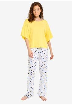 b8bda0cd9 OVS yellow Lemon Pyjamas Set 60E46AA25B3B82GS 1