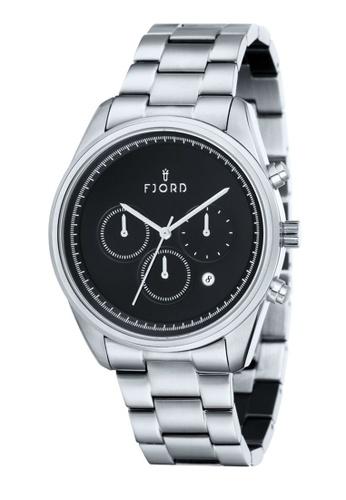 Fjord silver Fjord Men's Solid Bracelet Watch - FJ-3003-11 3FC55ACAB3A86AGS_1