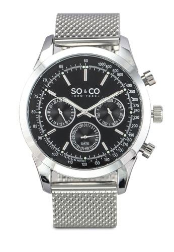 SO&CO silver Monticello Watch 5006A SO540AC0SHLQMY_1
