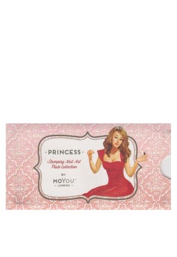 MoYou London pink Moyou Princess 09 Free Nail File 3ACB6BEB354EF6GS_1