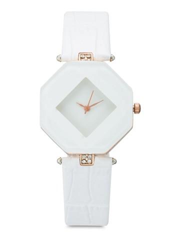 esprit outlet hong kong棱柱體仿皮鱷魚紋手錶, 錶類, 時尚型