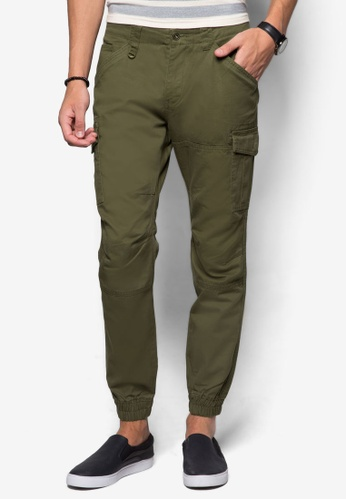 Sparrow Green brown UMA Joggers SP065AA83DZWMY_1