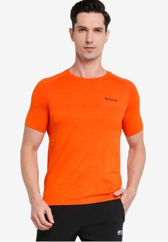 361° orange Running Series Short Sleeve T-shirt FD5CBAA7DCF802GS_1
