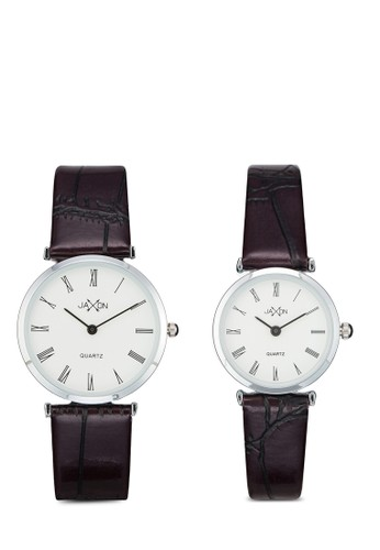 Clayton 經典圓框情侶esprit outlet台北裱, 錶類, 皮革錶帶