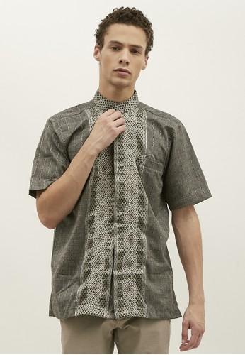 Woffi grey Arkalyk Koko Shirt 08566AA61841EEGS_1