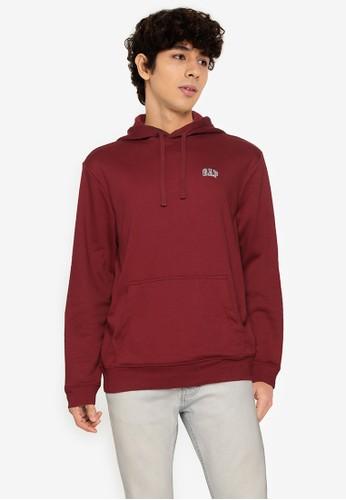 Gap red Mini Logo Hoodie 98857AA452D9CAGS_1