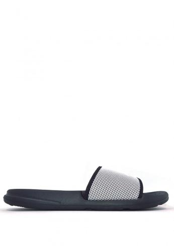 ACCEL black and white Palaui M Sports Sandals B4088SH7557413GS_1