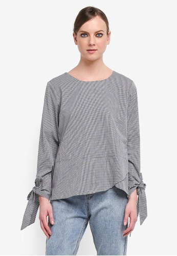 peace collections grey Plus Size Blouse AD64AAA0E88819GS_1