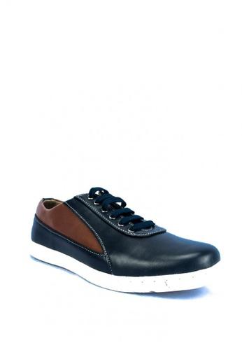 Mario D' boro Runway blue Glen Sneakers 1CF8ESH27AA613GS_1