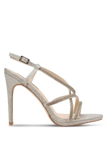 e3ad12e84f4 Buy Nose Diamond Glitter Heel Sandals Online on ZALORA Singapore