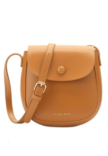 PLAYBOY BUNNY yellow Brand Sling Bag 37549ACD41063EGS_1