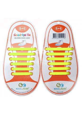 Fashion by Latest Gadget yellow No Tie Silicone Shoe Laces Size For Children FA499SH24XGLPH_1