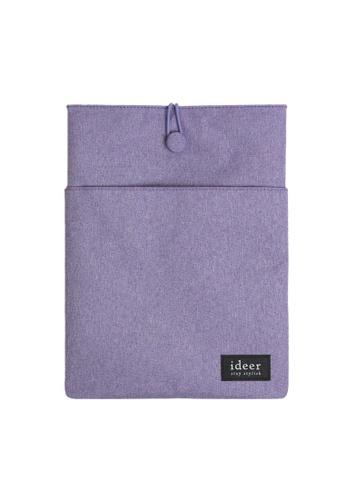 """ideer purple Ryman Lavender 13"""" Laptop Sleeve ID960AC52SPBHK_1"""