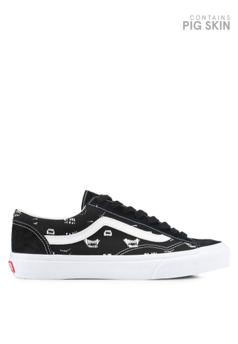 VANS black and white Style 36 Year of The Dog/Sankuanz Sneakers VA142SH0SWRXMY_1