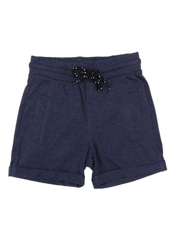 FOX Kids & Baby blue Casual Knit Shorts C2F37KA85DA02FGS_1