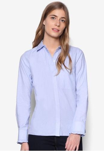 單esprit 折扣口袋長袖襯衫, 服飾, 服飾