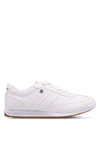North Star 白色 綁帶運動鞋 119FASHA71EB53GS_1