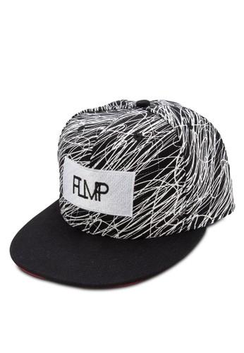 esprit台灣官網粉筆塗鴉平沿帽, 飾品配件, 帽飾