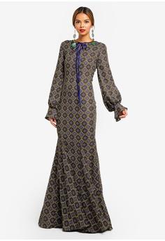 c17be2855bf4 42% OFF Syomirizwa Gupta for ZALORA VEGA Dress S$ 170.90 NOW S$ 98.90 Sizes  S M L XL