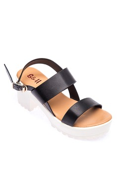 Marseille Heel Sandals