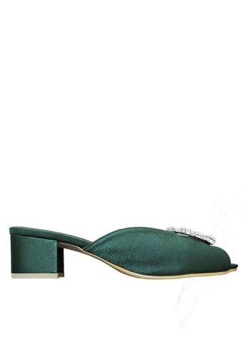 Jacque green Stella Green Low Heel JA262SH88WNFMY_1