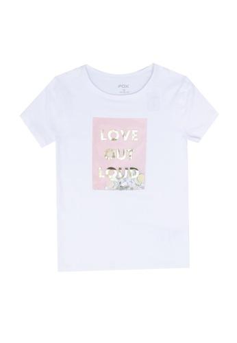 FOX Kids & Baby white Quote T-Shirt C0B8FKA2572625GS_1