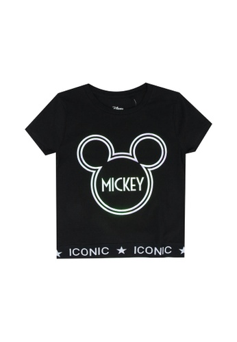 FOX Kids & Baby black Short Sleeve Tee 312C8KAB1D43B8GS_1