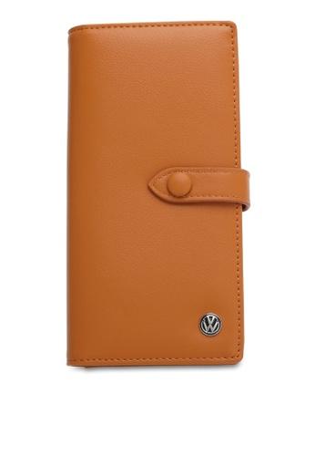 Volkswagen brown Casual Long Purse 09AD6ACA522703GS_1