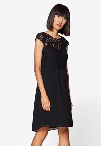 ESPRIT black Light Woven Midi Dress 7C700AA8ADC956GS_1