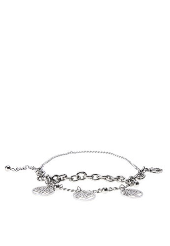 Imono Jewelry silver Charmed Bracelet 4E4EFACA69B1E6GS_1