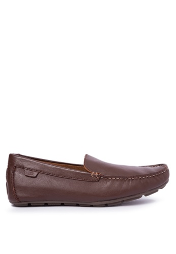Sperry brown Wave Driver Venetian Loafers SP132SH30XLPPH_1