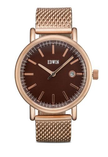 EPIC 三指針不朽感圓形錶, esprit china錶類, 不銹鋼錶帶