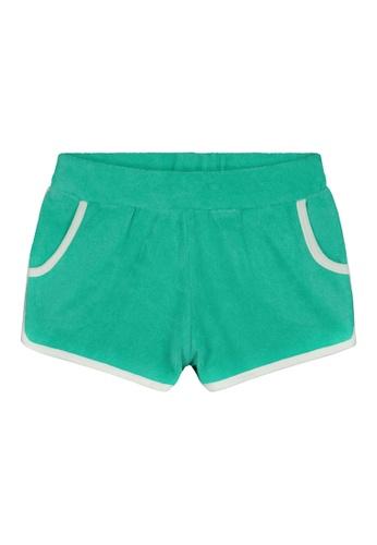 Shiwi green Terry Shorts C3FEEKA8546A3DGS_1