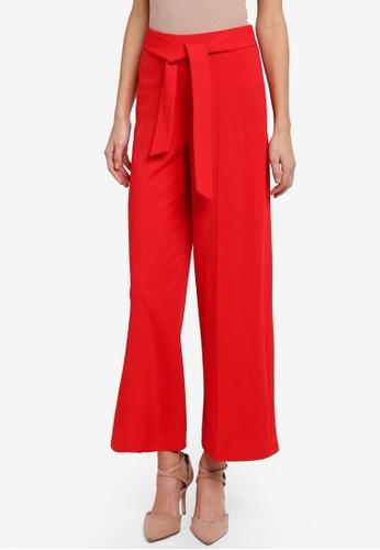 Miss Selfridge red Petite Wide Leg Trousers MI665AA0STCUMY_1