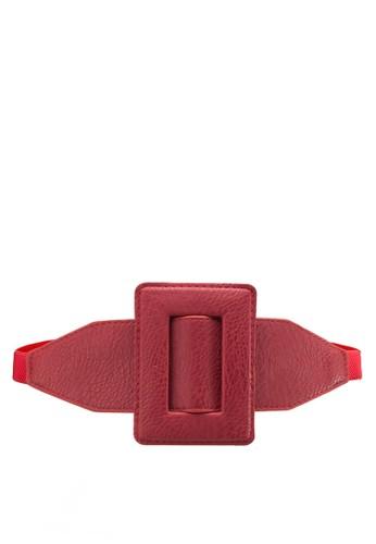 esprit台北門市超大方形扣環腰帶, 飾品配件, 腰封