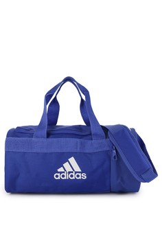 ab1b125e6b adidas blue adidas convertible 3 stripes duffel bag xs 2F654AC94D4A00GS 1