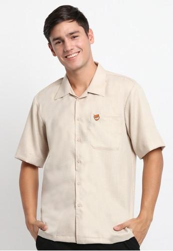 Mellon beige Mellon Beige Iwok Pin Shirt 543CDAA2101DCCGS_1