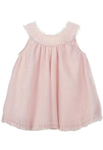 Luna Luna pink Estelle Baby Dress 791D9KAAF963D5GS_1