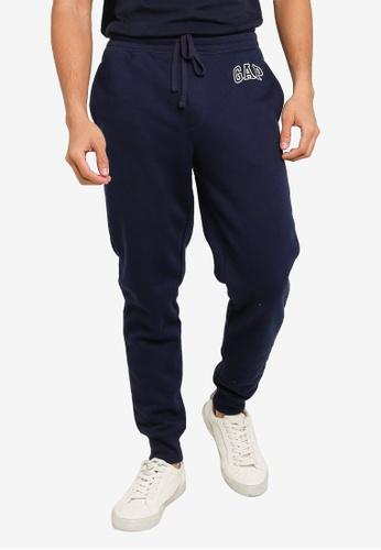 GAP navy Modern Logo Pants CD995AA8130608GS_1