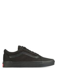 54ee9ff4df1 VANS black Core Classic Old Skool Sneakers VA142SH24UNZMY 1
