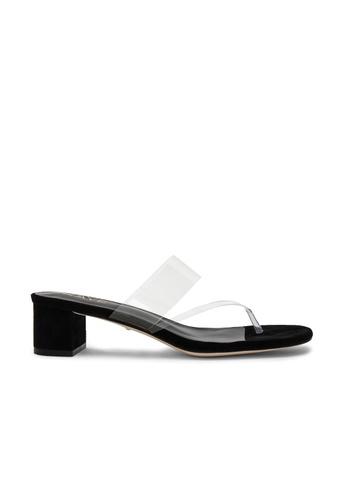 Raye black Nova Sandal 69D5CSHC5FDA6FGS_1
