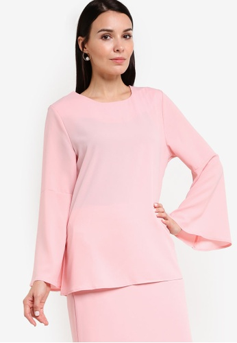 BYN pink Bayung Salorma Top BY059AA66VJHMY_1